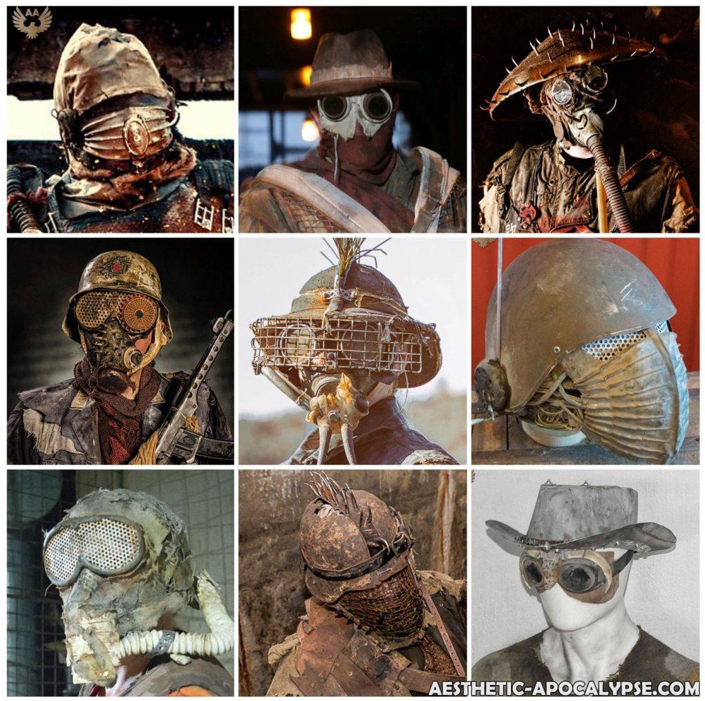 postapocalyptic helmets