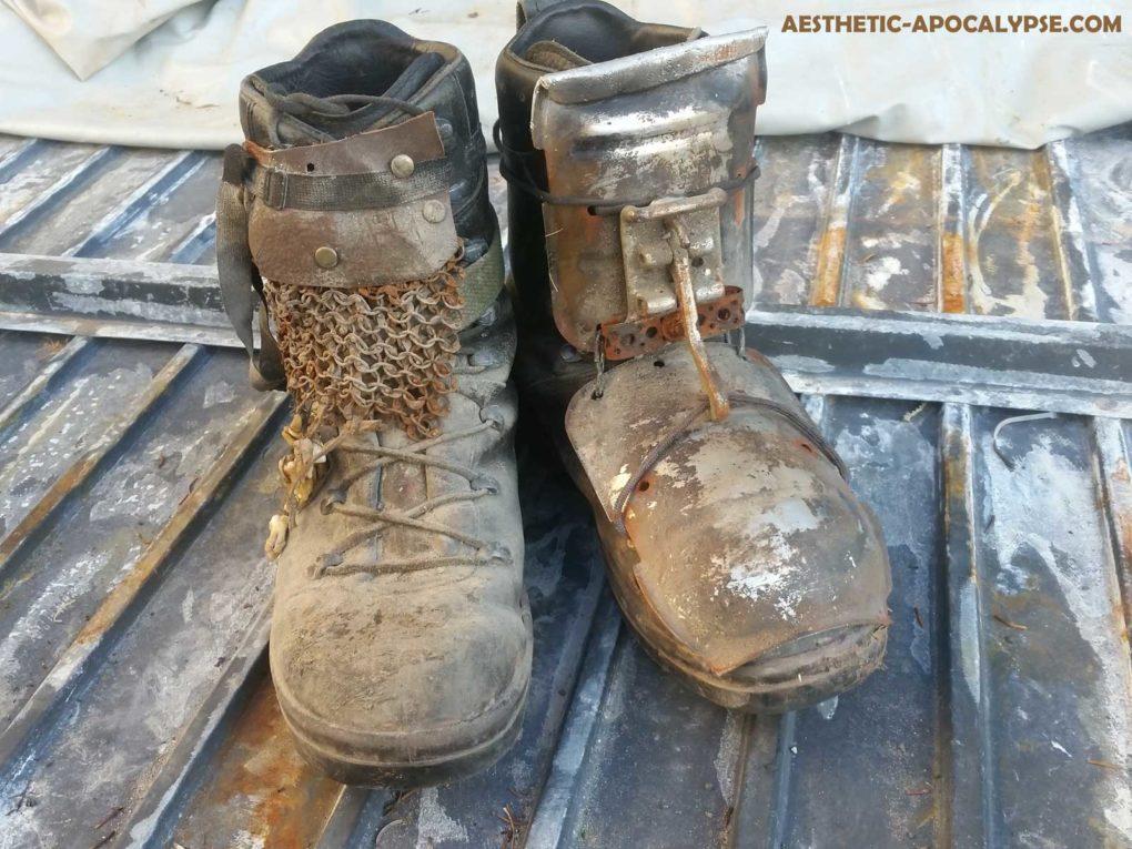 postapocalyptic boots