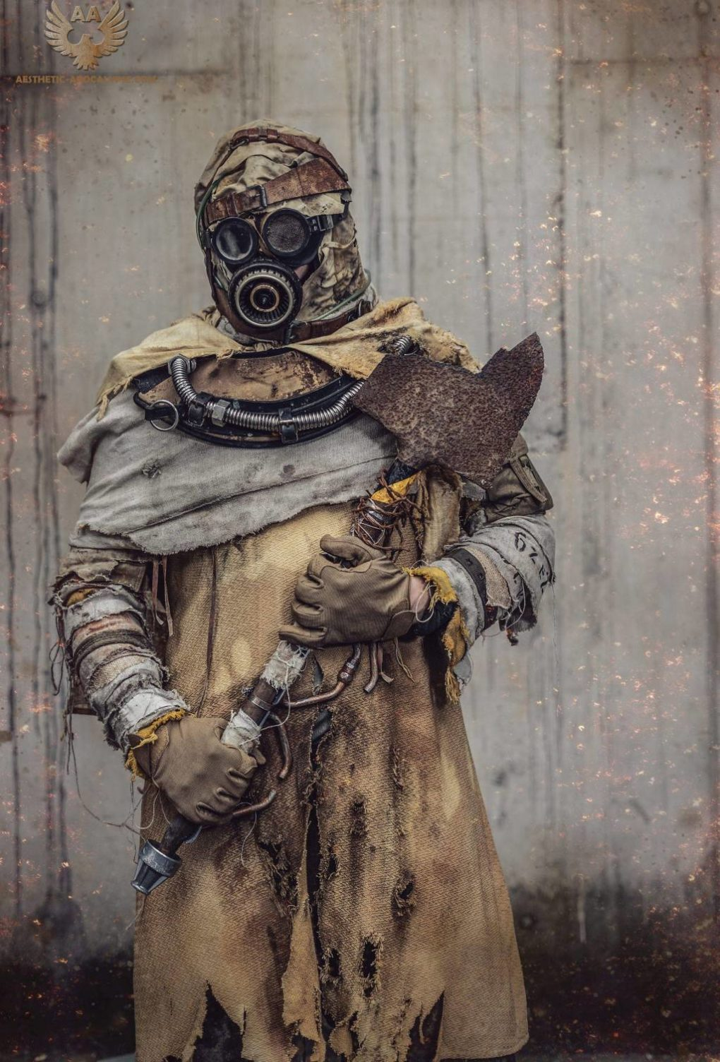 post apocalyptic nomad costume